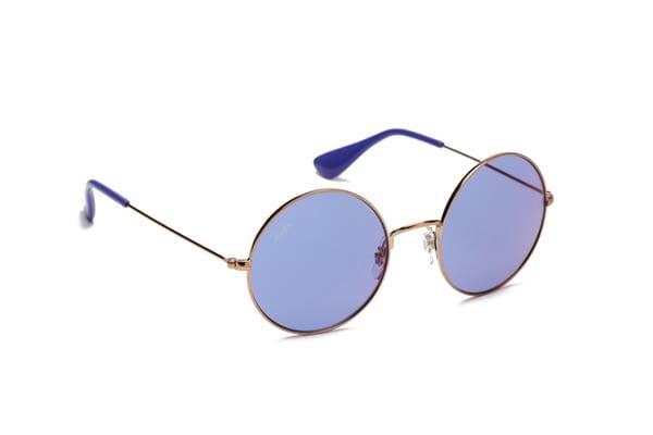Ray-Ban Round Sunglasses - Purple Tint