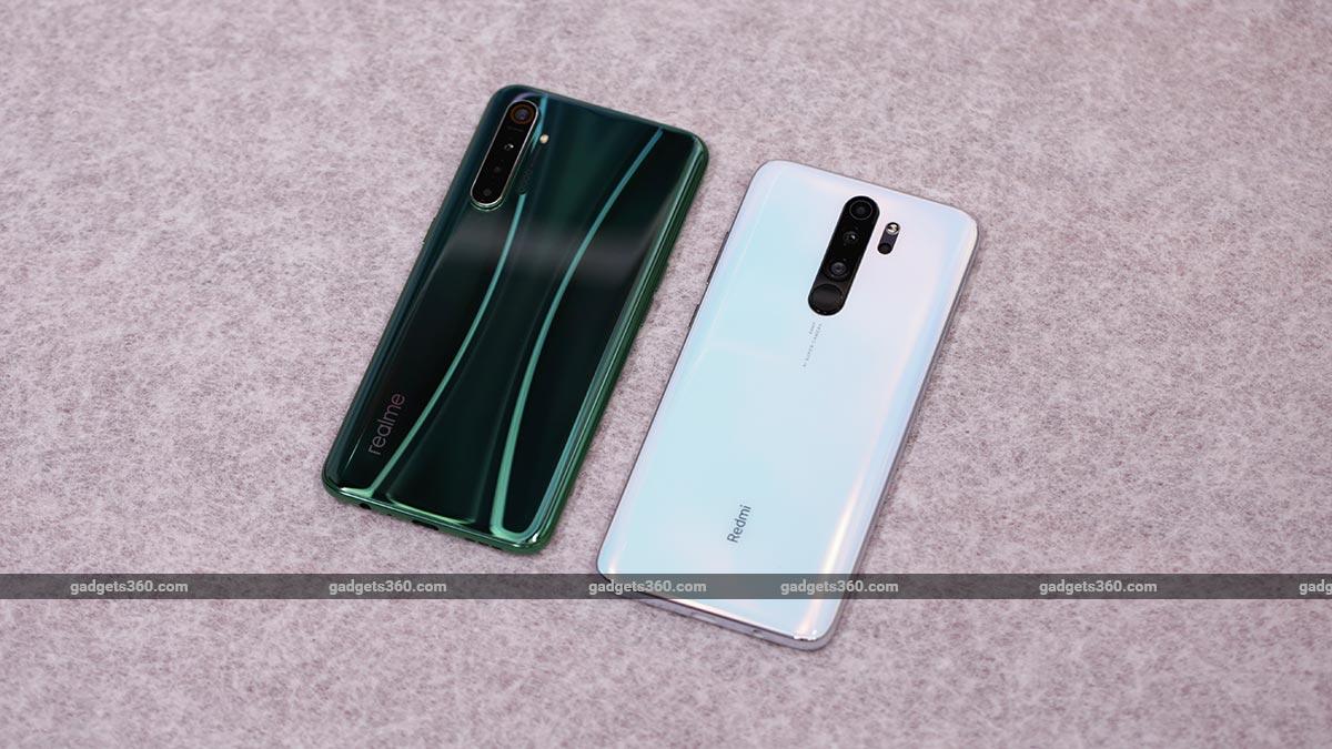 RealmeX2 vs RedmiNote 8 Pro back Realme X2 vs Redmi Note 8 Pro