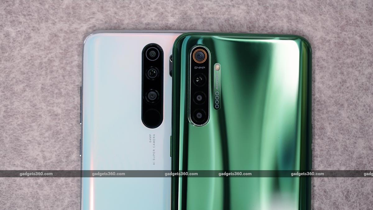 RealmeX2 vs RedmiNote 8 Pro cameras Realme X2 vs Redmi Note 8 Pro