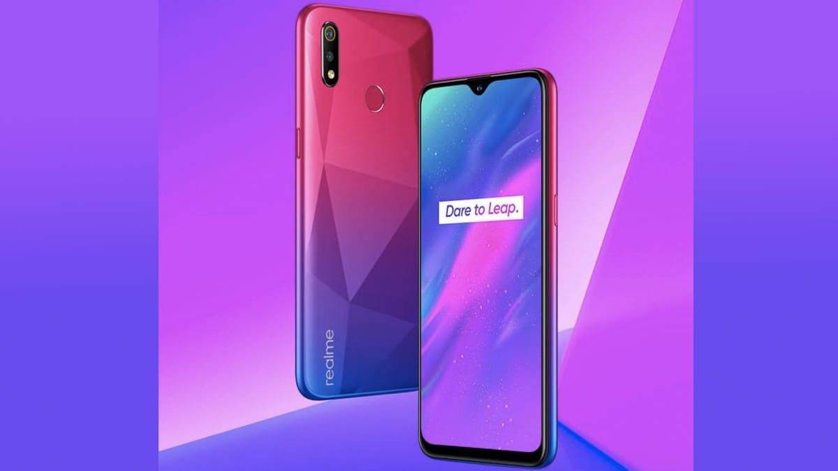 Realme 3 Diamond Red color is coming for India