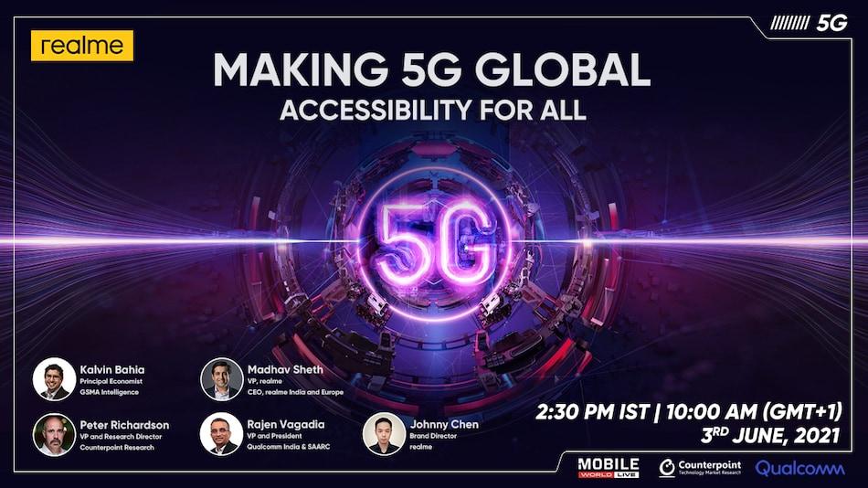 Realme 5G Global Summit Today: Realme GT 5G हो सकता है आज लॉन्च, यहां देखें लाइवस्ट्रीम...