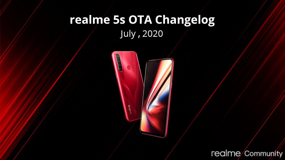 Realme 5 Pro, Realme 5/ Realme 5s, Realme 5i Get July 2020 Security Patch
