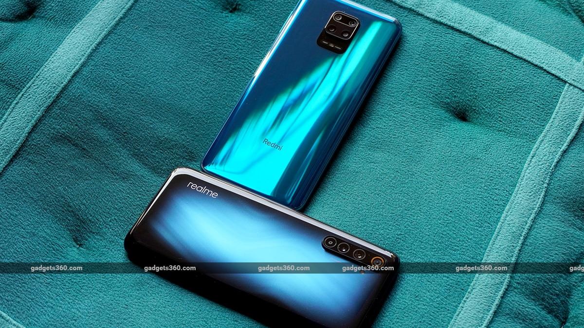 Realme 6 Pro vs Redmi Note 9 Pro angle hhh