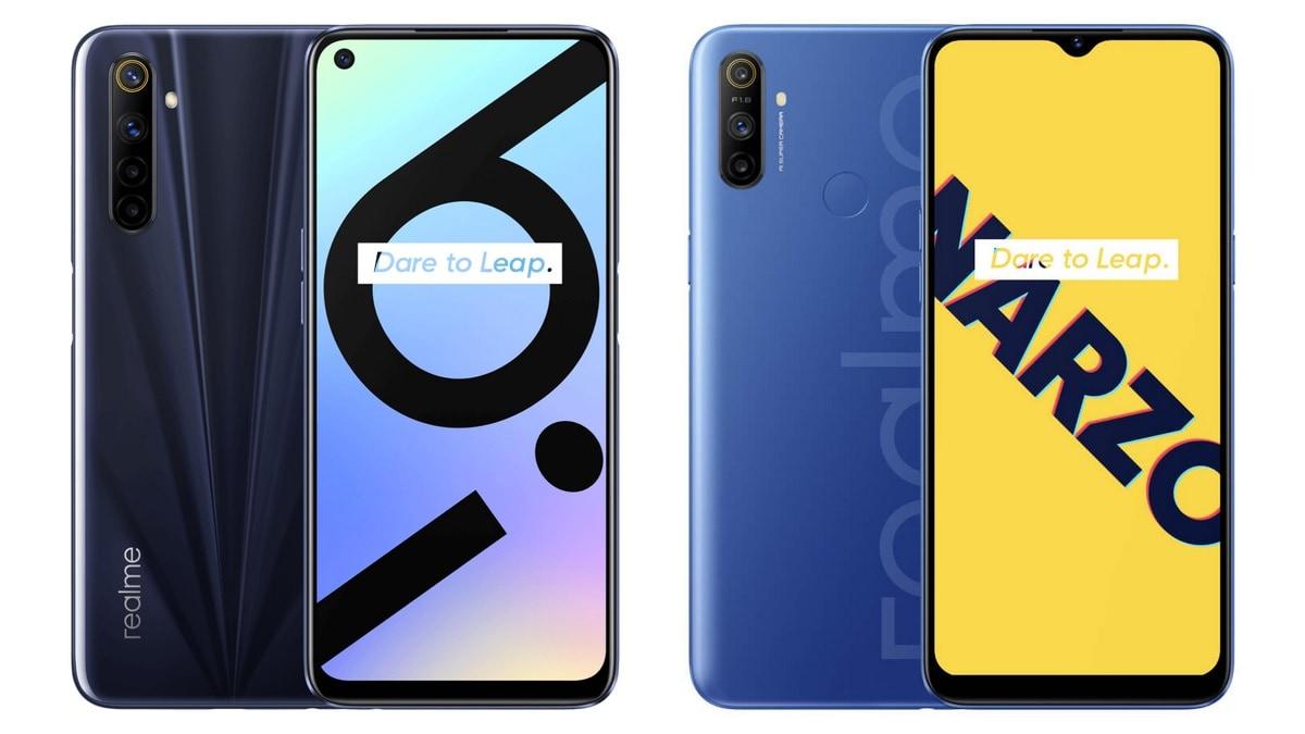 Realme 6i और Realme Narzo 10A की आज होगी सेल, इन ऑफर्स के साथ खरीदें