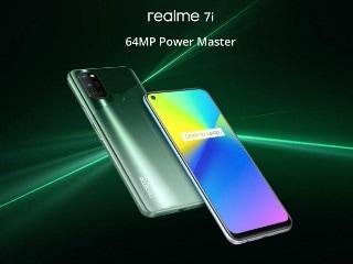 Realme 7i के भारतीय मॉडल के स्टोरेज और कलर वेरिएंट की जानकारी लीक