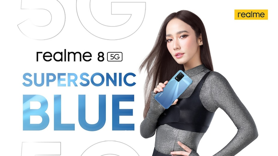 Realme 8 5G Supersonic Blue Variant Teased, Reportedly Spotted in Google Play Console Listing