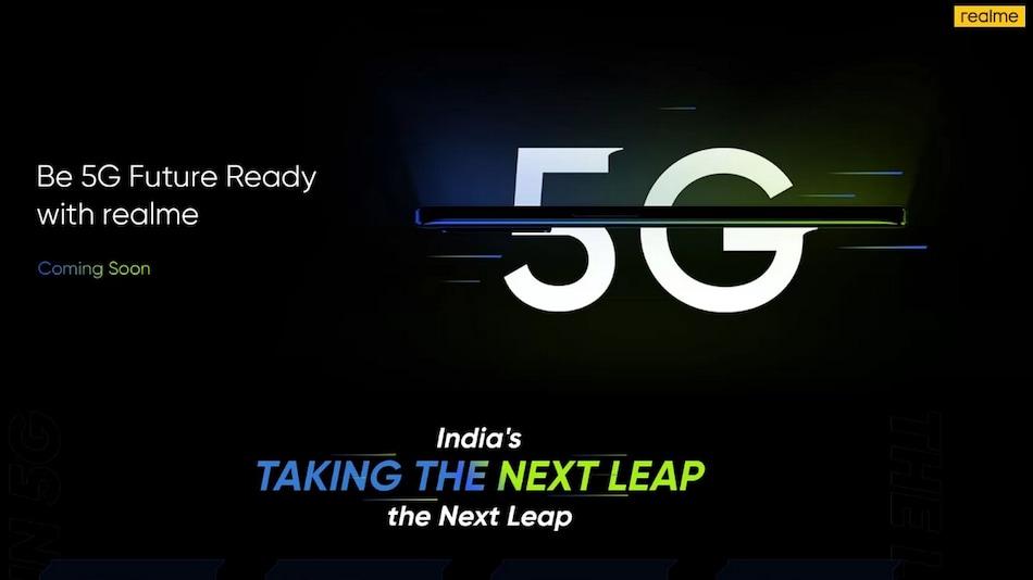 48MP कैमरे वाला Realme 8 5G फोन 22 अप्रैल को भारत में होगा लॉन्च!