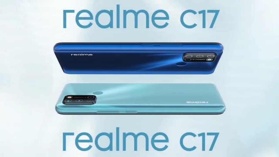 Realme C17 लॉन्च, इसमें हैं चार रियर कैमरे और 90 हर्ट्ज़ डिस्प्ले