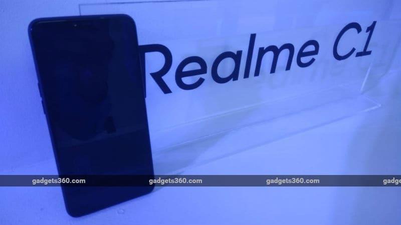 Realme C1 लॉन्च हुआ भारत में, 4,230 एमएएच बैटरी और दो रियर कैमरे से है लैस