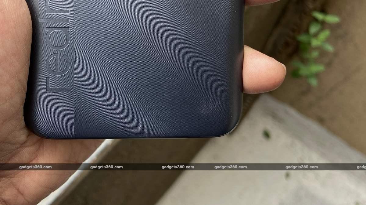 Realme C25 back scratched ndtv RealmeC25  Realme