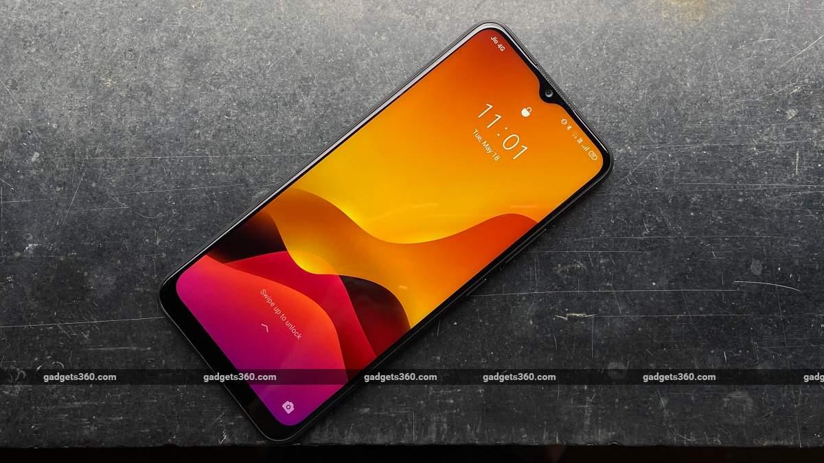 Realme C25 display front colour ndtv RealmeC25  Realme