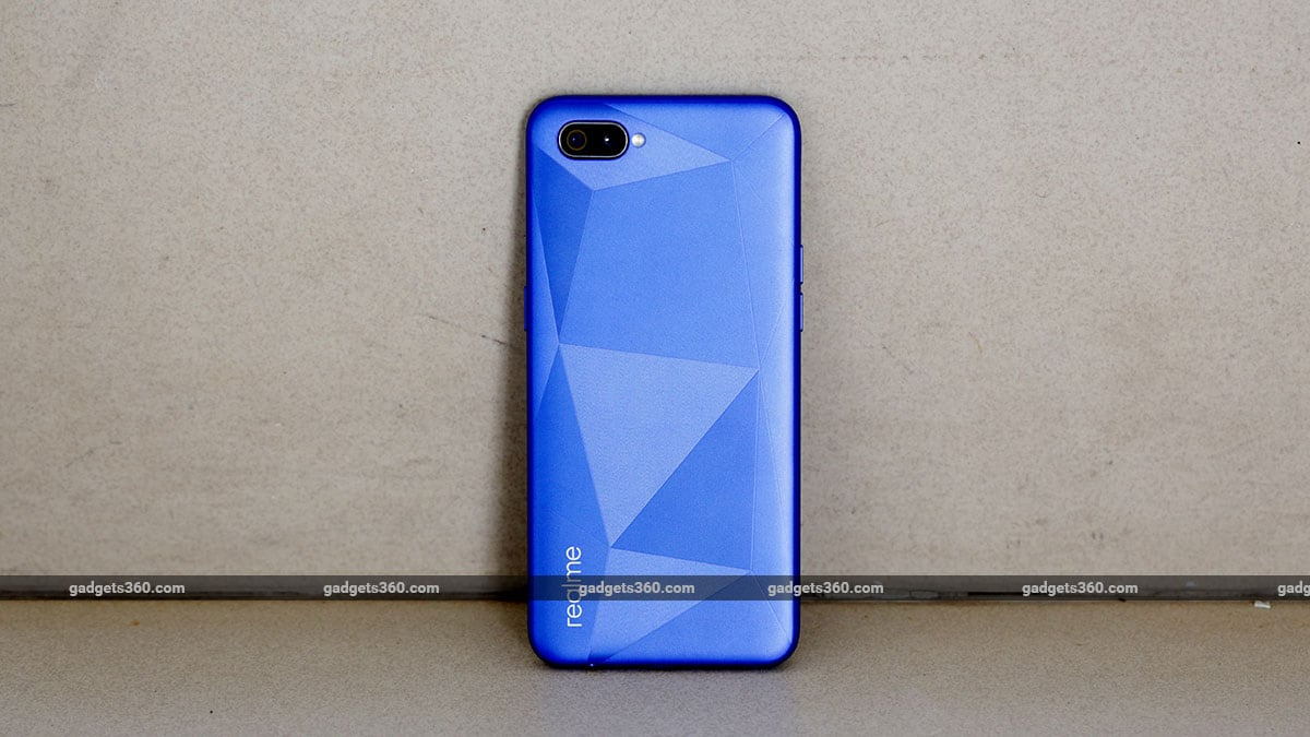 Realme C2 back Realme C2 Review