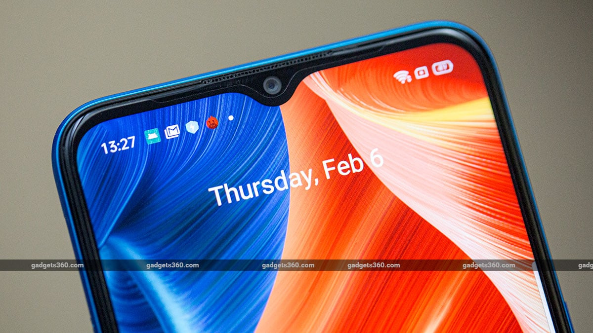 Realme C3 dewdrop notch Realme C3 Review