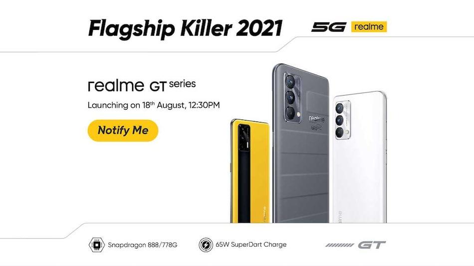 Realme GT 5G, Realme GT Master Edition Phones, Realme Book Slim भारत में 18 अगस्त को होंगे लॉन्च