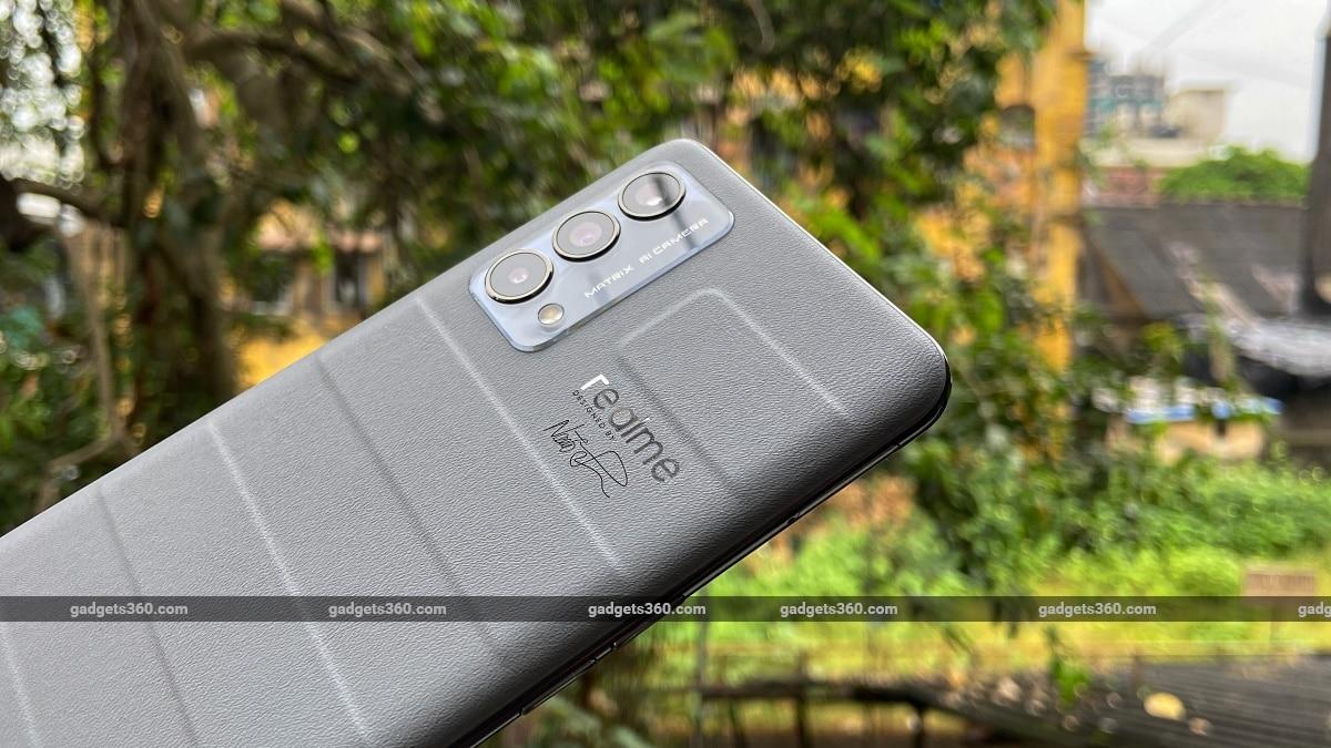 Realme GT Master Edition ndtv lederen ontwerp achterkant Realme RealmeGTMasterEdition Realme GT