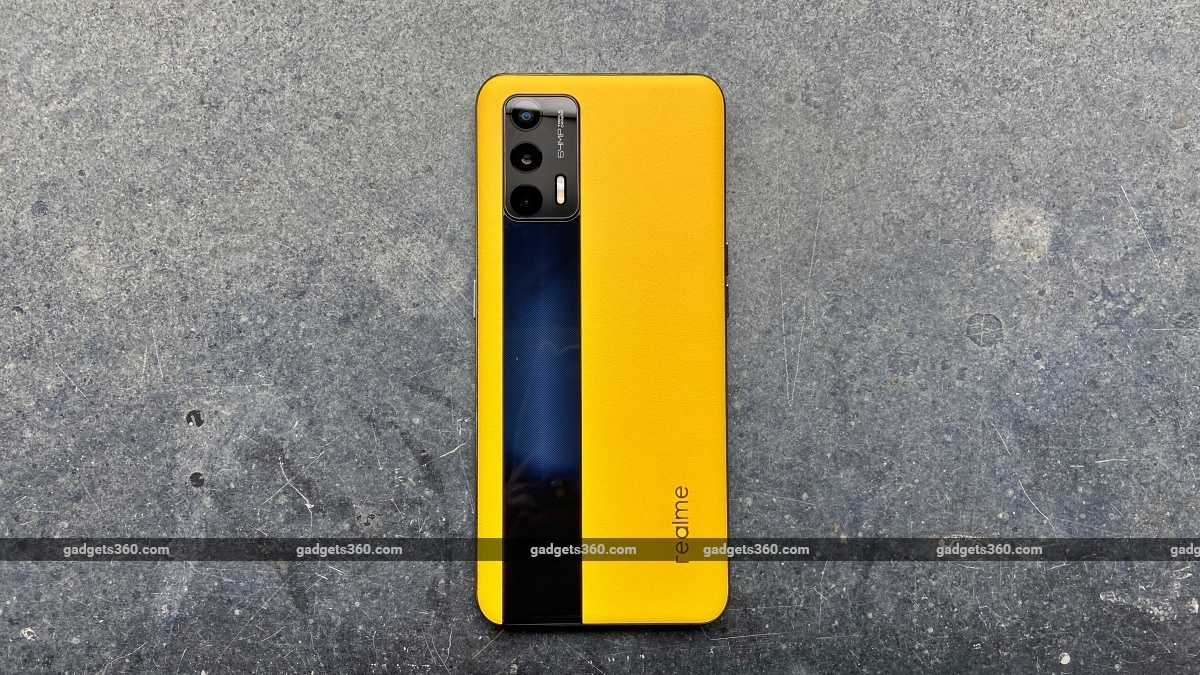 Realme GT back design ndtv RealmeGT  Realme
