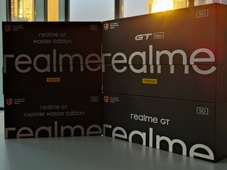 Realme GT 5G, Realme GT Master Edition Models Teased to Launch in India