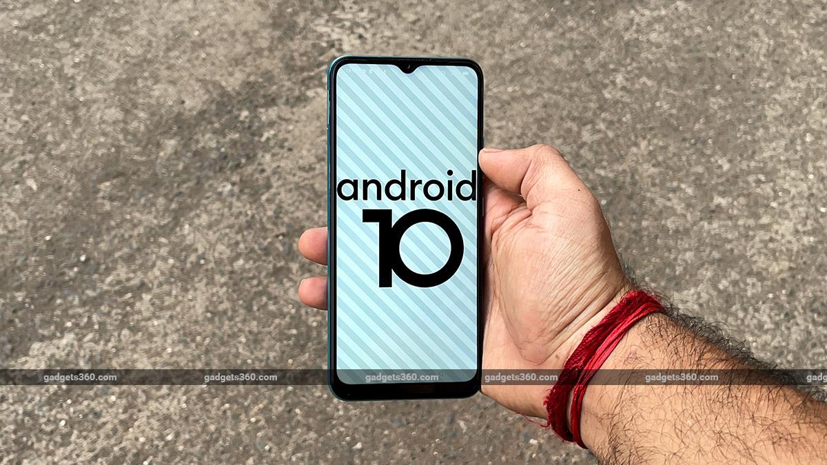 Realme Narzo 30A Android 10 gadgets360 Realme Narzo 30A Review