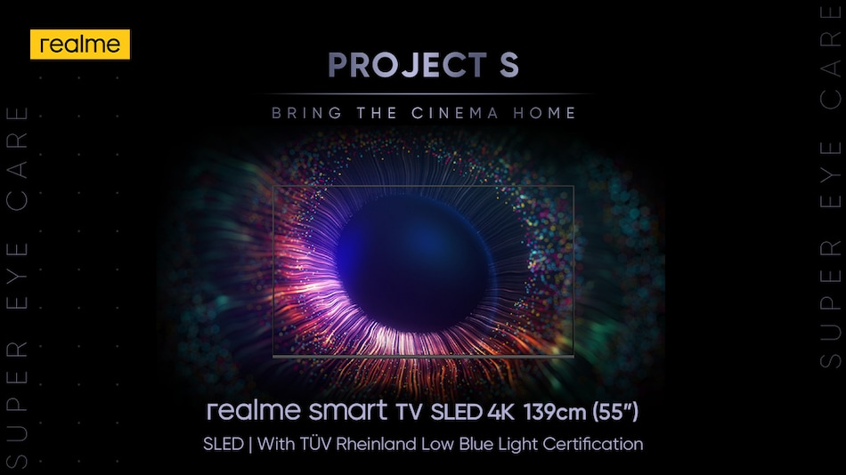 Realme Smart TV SLED 4K Price in India Tipped, May Launch Soon