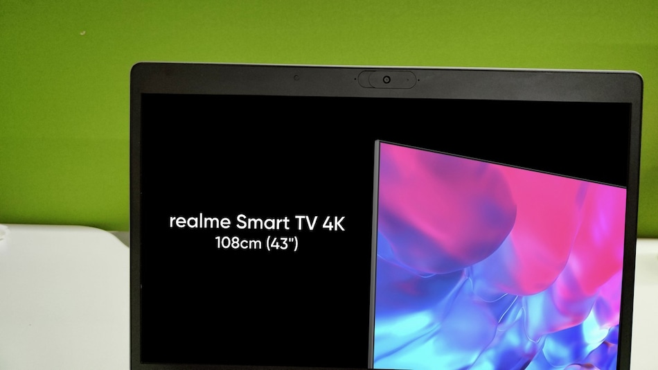 Realme Smart TV 4K 43-Inch With Slim Bezels Teased by Company CEO, Could Launch Next Month