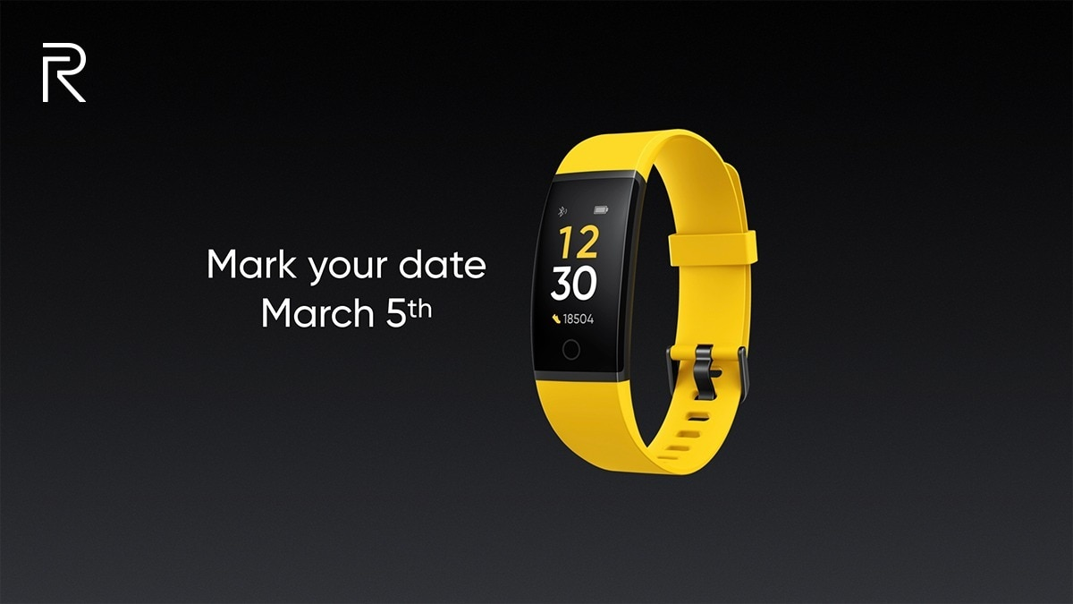 Realme Band Launch Set for March 5, Smartwatch Also Expected Soon
