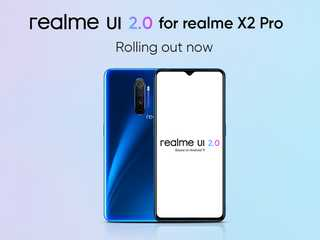 Realme X2 Pro Getting Android 11-Based Realme UI 2.0 in India With Improvements to UI, Camera, Security, More