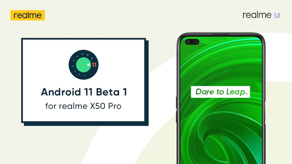Realme X50 Pro to Receive Android 11 Beta 1 Update in Early July