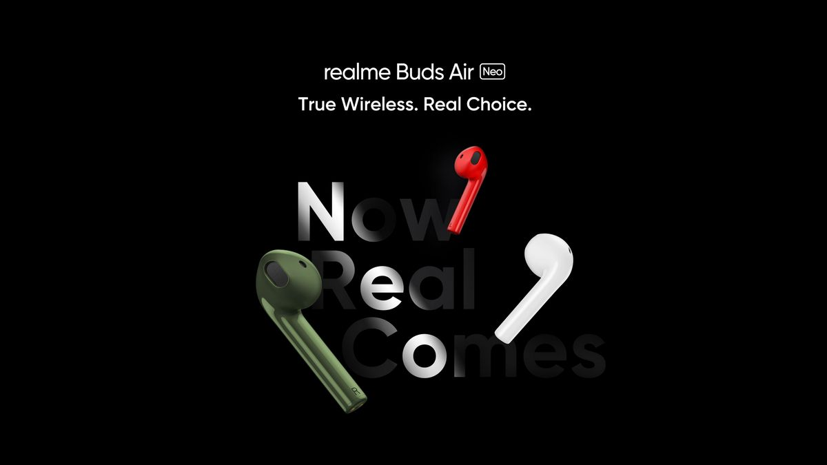 Realme Buds Air Neo True Wireless Earphones with 13mm Driver , Launching Date In India