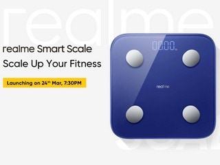 Realme Smart Scale Specifications Revealed Hours Ahead of Launch Today, Will Feature 16 Health Measurements