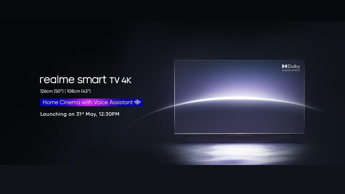 Realme Smart TV 4K Specifications, Price in India Surface Online Ahead of May 31 Launch