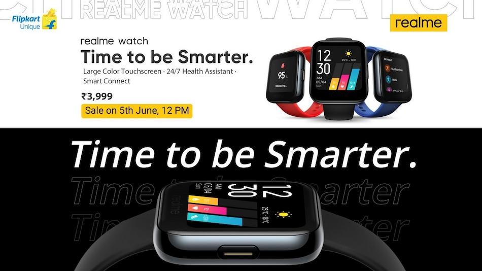 ফ্লিপকার্টে পাওয়া যাচ্ছে Realme Watch; দাম ও স্পেসিফিকেশন