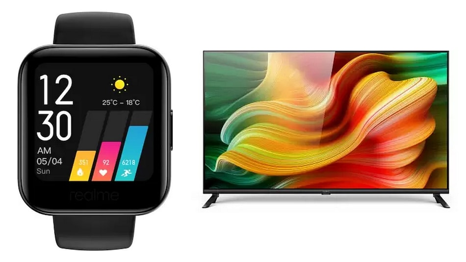 Realme Smart TV, Realme Watch to Go on Sale Today at 12 Noon via Flipkart, Realme Website