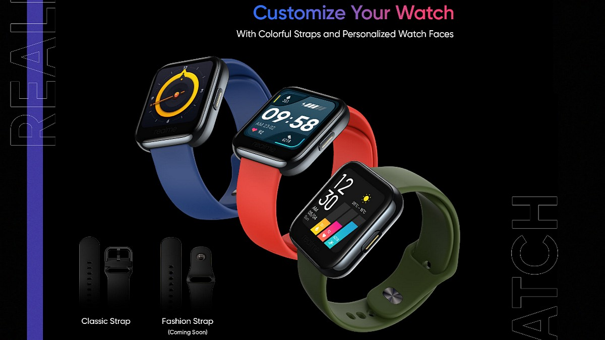 Realme Watch Teasers Reveal 1.4-Inch Display, Activity Tracking Features Ahead of May 25 Launch