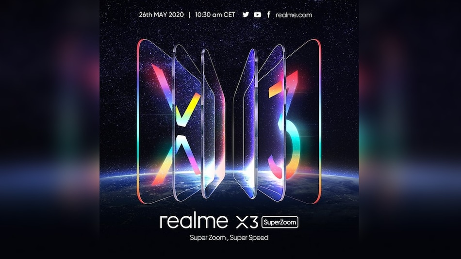 Realme X3 SuperZoom Launching in Europe on May 26: All Details