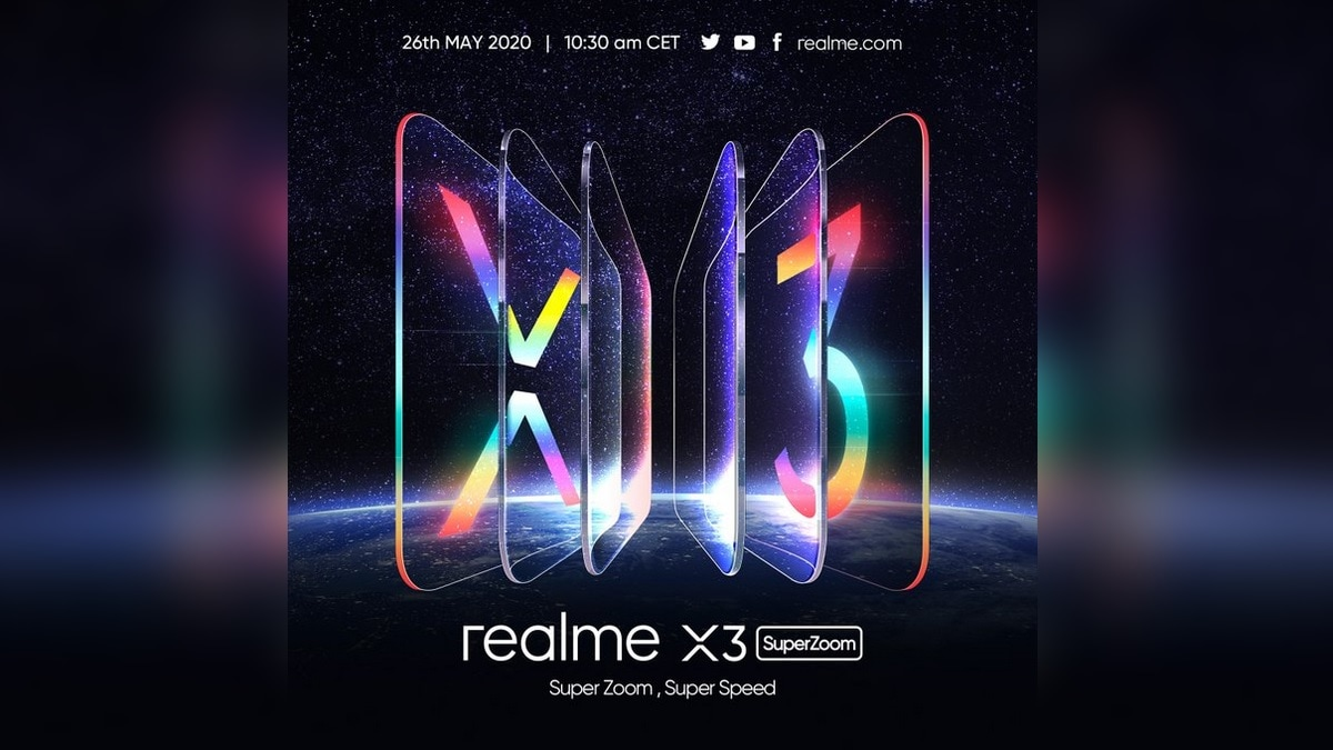 Realme X3 SuperZoom होगा 26 मई को लॉन्च