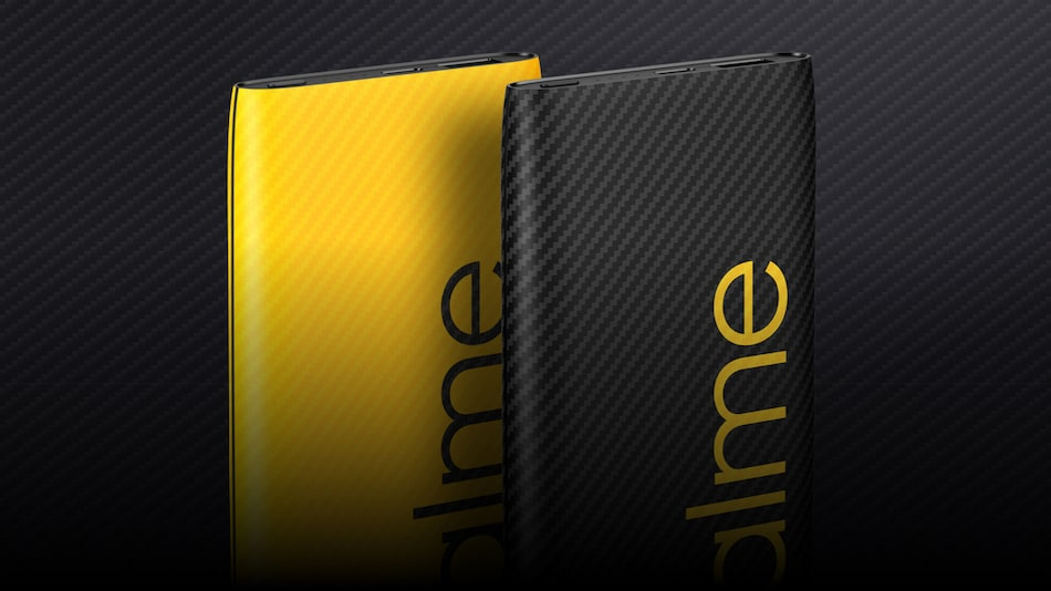 Realme 30W Dart Charge 10000mAh Power Bank With Support for Multiple Fast Charging Solutions Launched