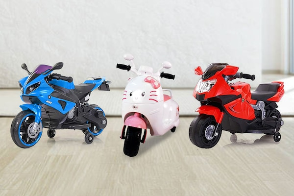 Rechargeable Battery Operated Ride-On Bikes For Kids