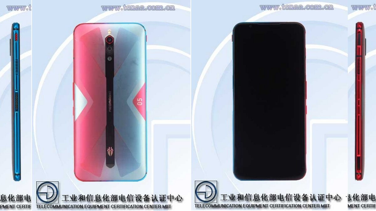 Nubia Red Magic 5G Will Have an Exciting Colour Combination, TENAA Listing Tips