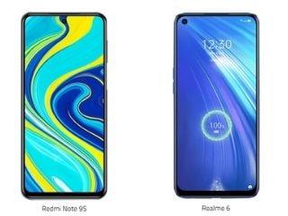 Redmi Note 9S और Realme 6 में कौन बेहतर?
