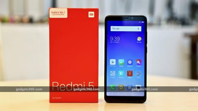 Redmi 5 Flash Sale Today at 12pm via Amazon India, Mi.com