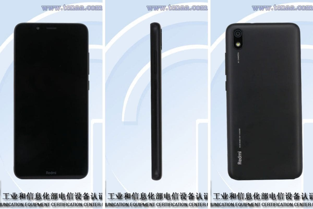 Redmi 7A Possibly Sighted on TENAA, Sports Single AI-Powered Rear Camera
