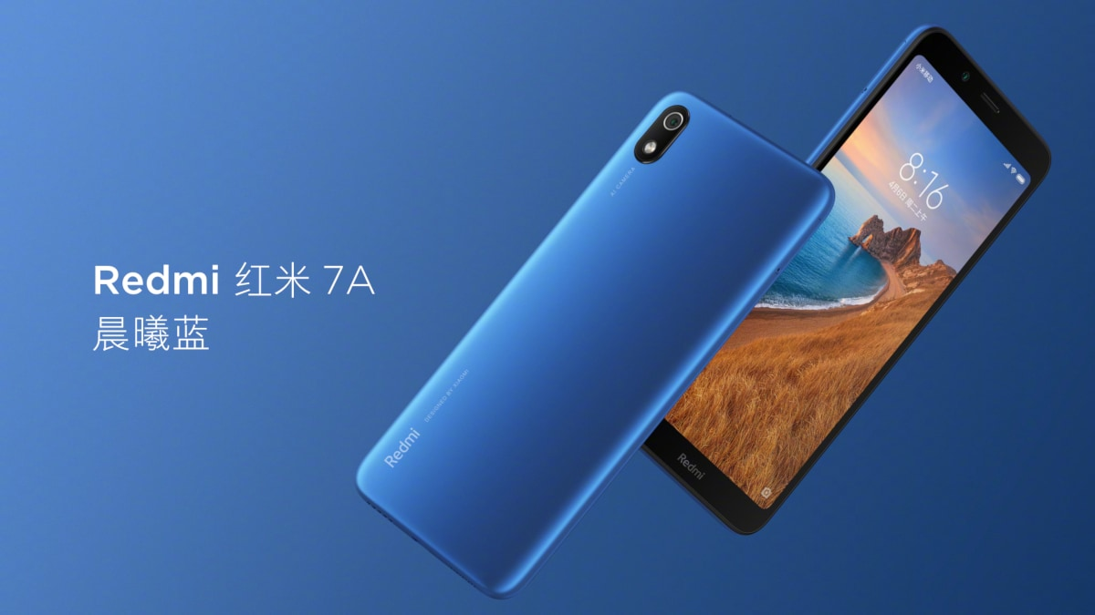 Redmi 7A Price Announced, to Go on Sale Beginning June 6 in China
