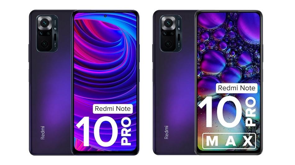 Redmi Note 10 Pro, Redmi Note 10 Pro Max Get New Dark Nebula Colour Option: Price in India, Specifications