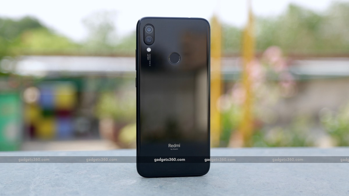 Redmi Note 7S Back Hands On Gadgets 360 Redmi Note 7S