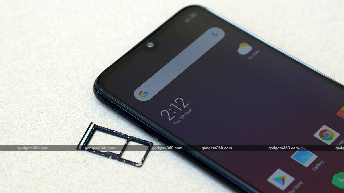 Redmi Note 7S SIM tray Redmi Note 7S Review