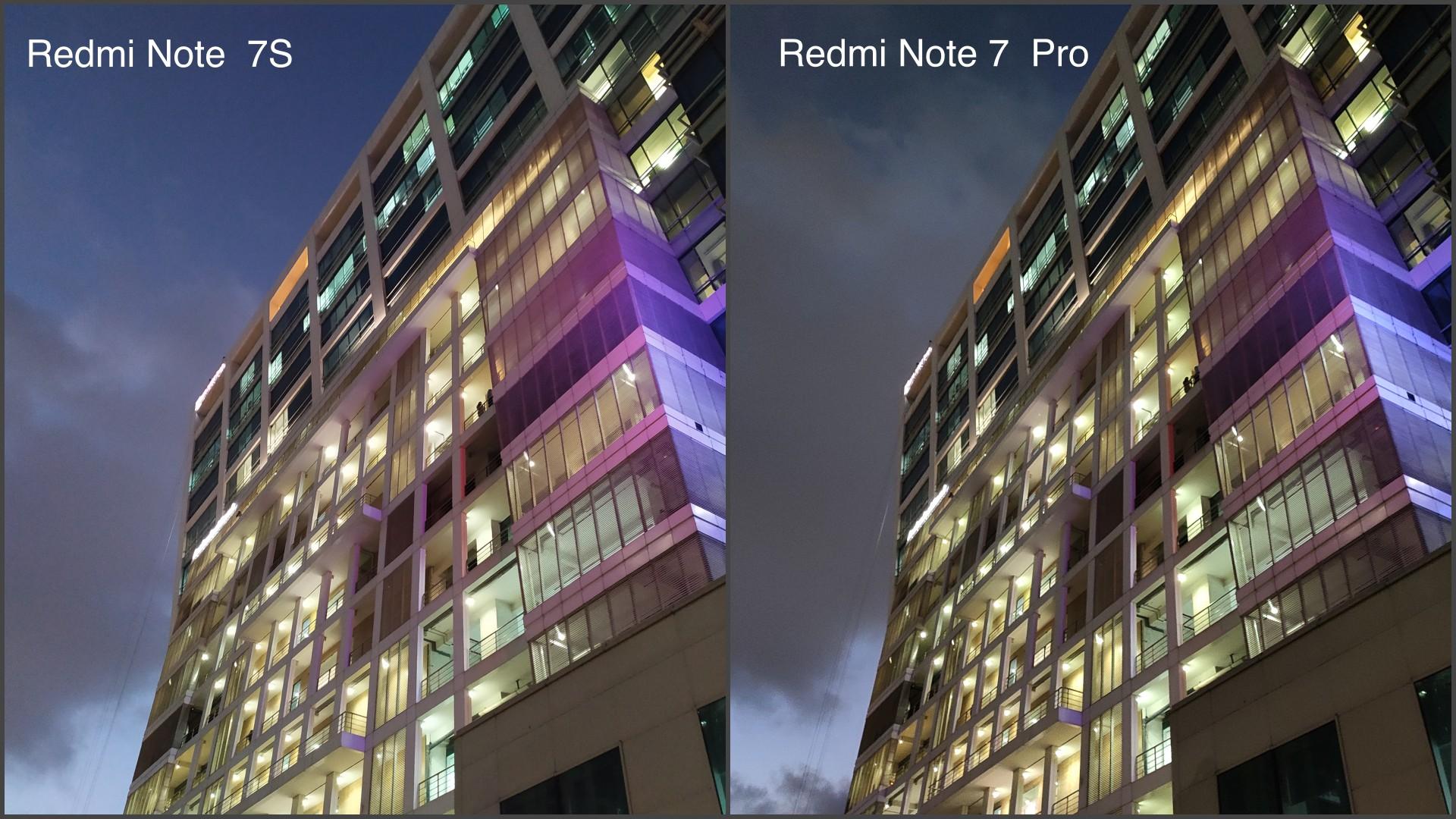 Redmi Note 7 Pro vs Redmi Note 7S Camera Comparison: The