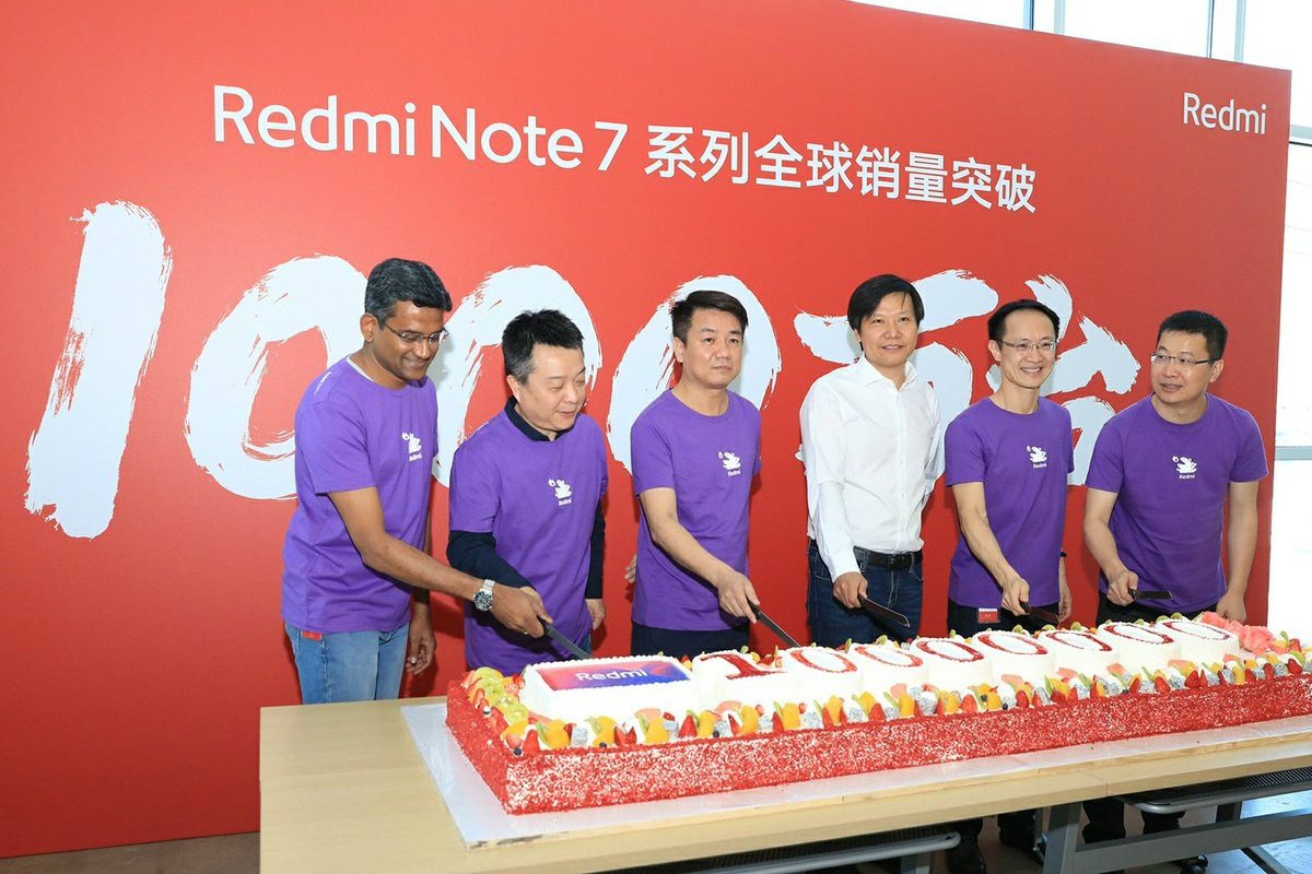 Redmi Note 7 Series Sales Cross 10 Million Mark Worldwide