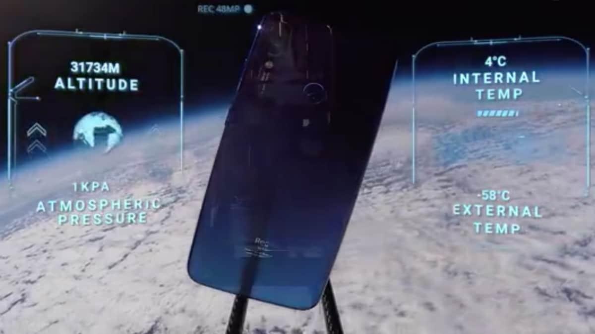 Redmi Note 7 गया अंतरिक्ष के 'सफर' पर, दिखा कैमरे का दम!