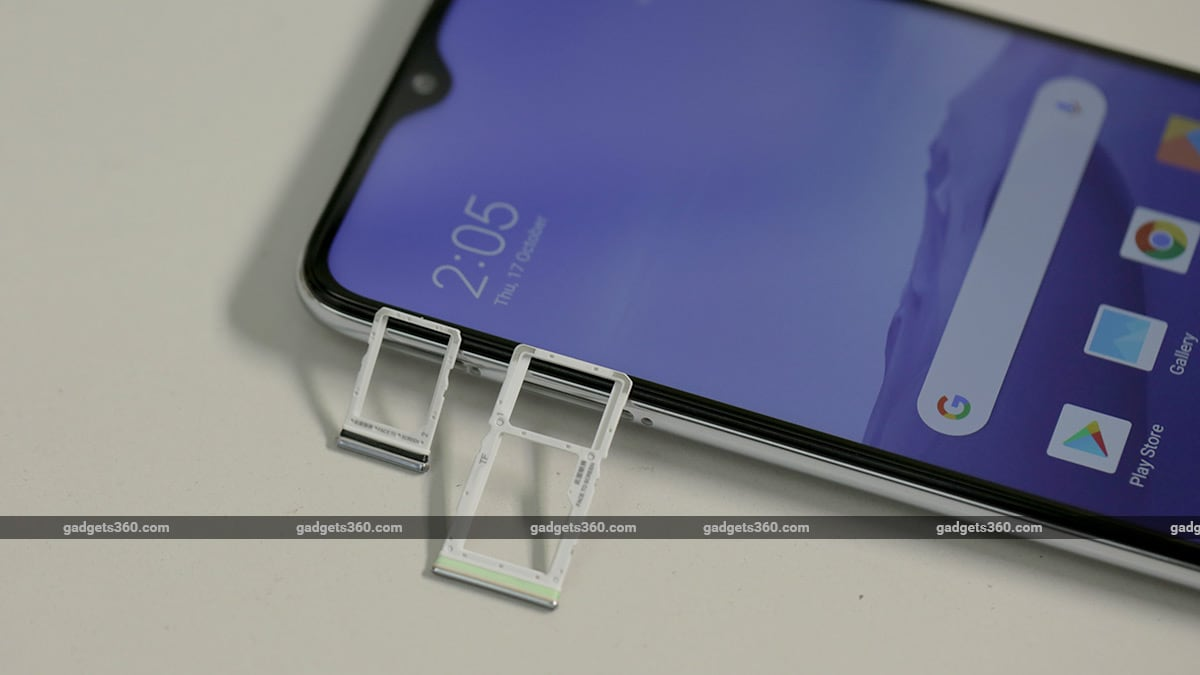 Redmi Note 8 Pro SIM Slots Redmi Note 8 Pro Review