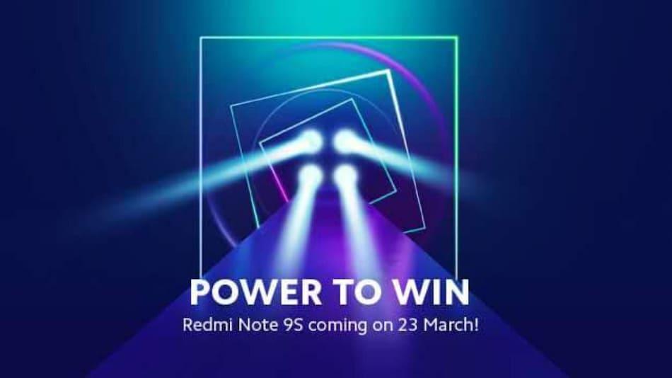 Redmi Note 9S किया जाएगा 23 मार्च को लॉन्च, होल-पंच डिस्प्ले से होगा लैस